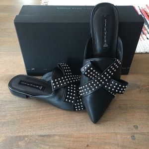 """Steven """"Vander"""" Leather Mule with Studs"""